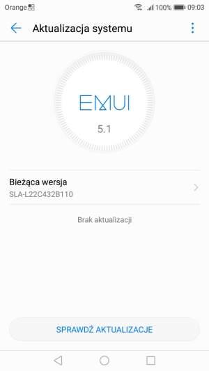 Huawei P9 Lite Mini system