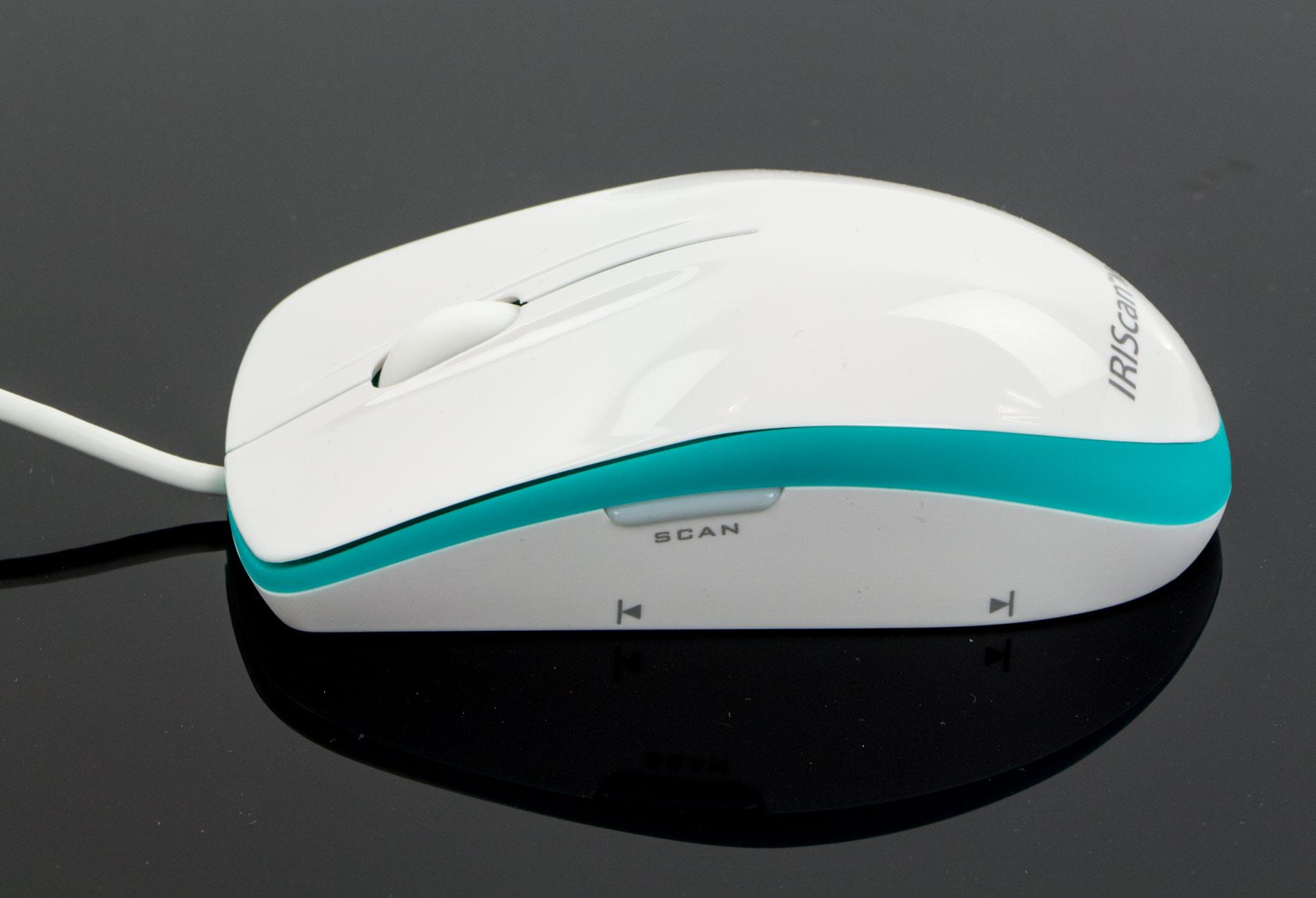 IRIScan Mouse Executive 2 lewy bok