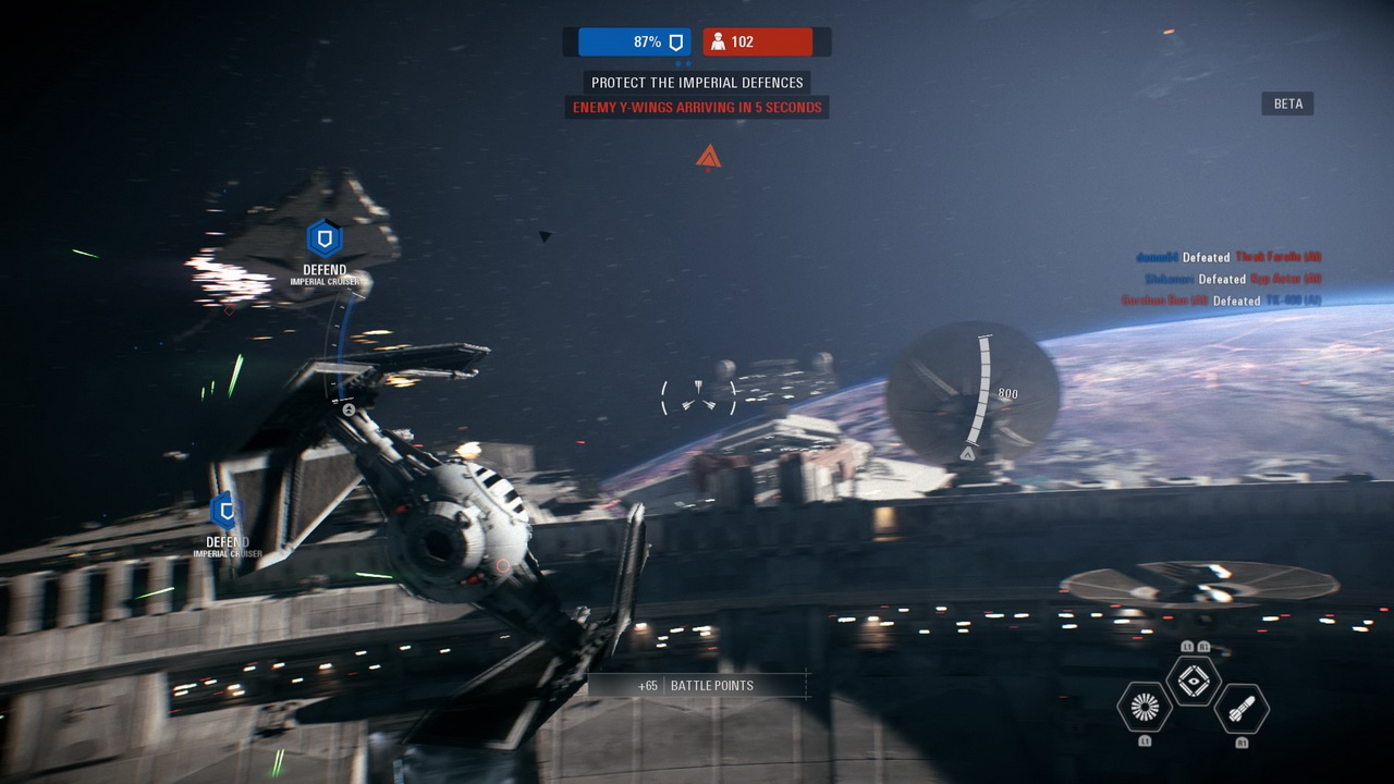 Star Wars: Battlefront II - Tie Fighter