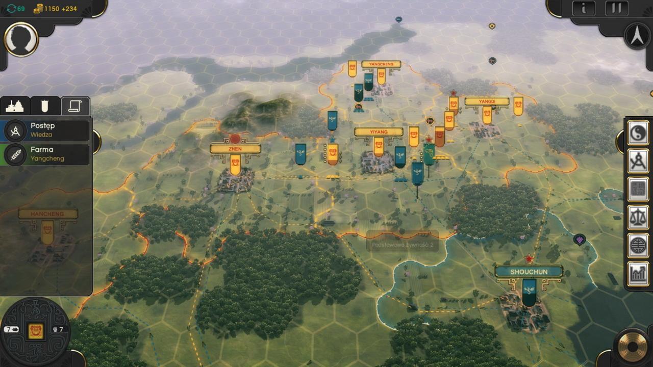 Oriental Empires - mapa
