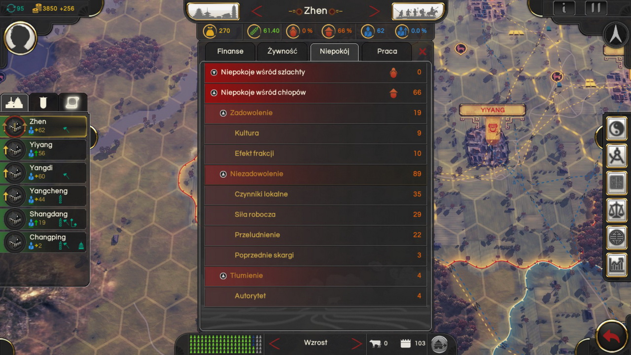 Oriental Empires - niepokoje