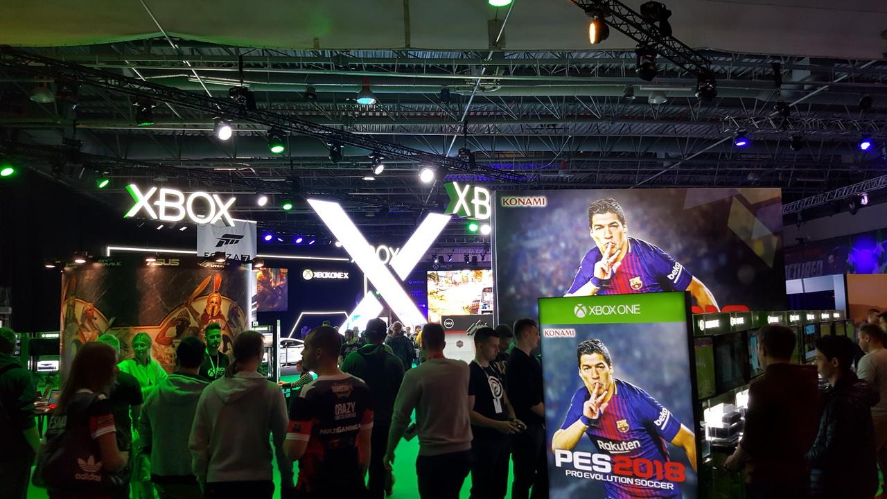 WGW 2017 - strefa Xbox
