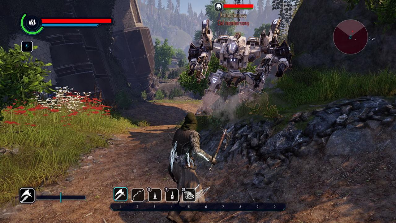 Elex - walka z kolosem bojowym