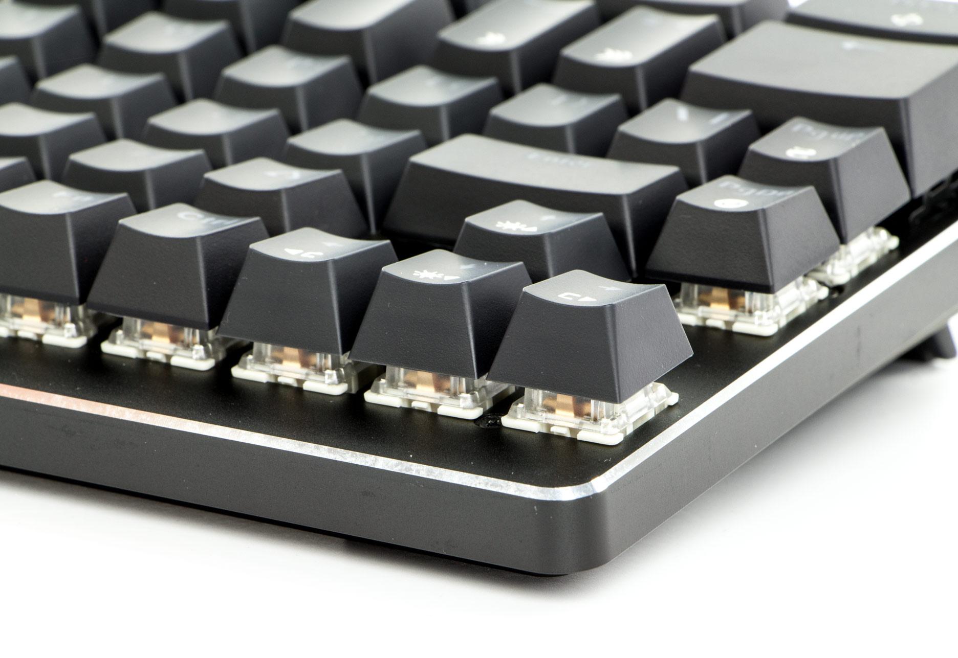 X-Bows Mechanical Ergonomic Keyboard - mechaniczne mikroprzełączniki Gateron