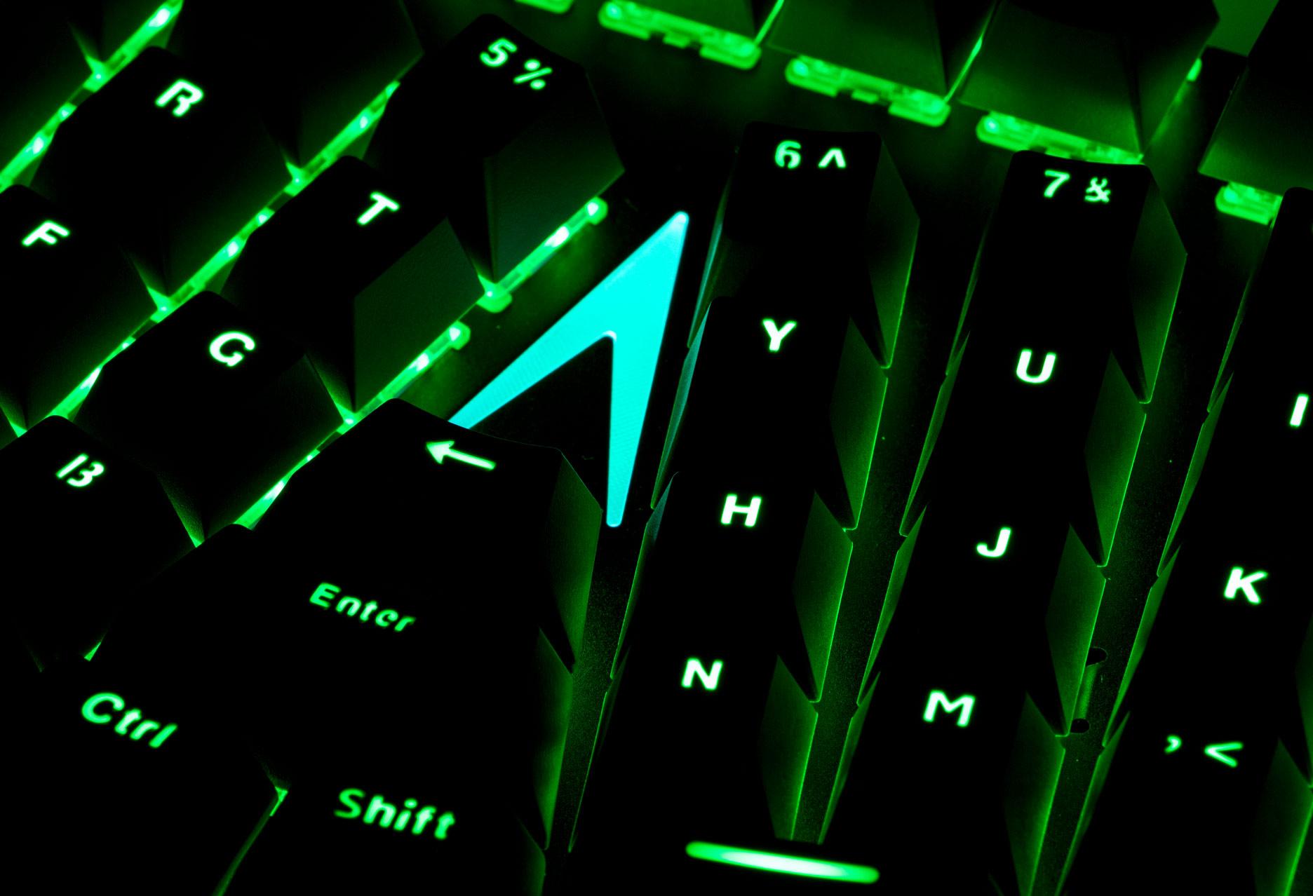 X-Bows Mechanical Ergonomic Keyboard - podświetlenie RGB