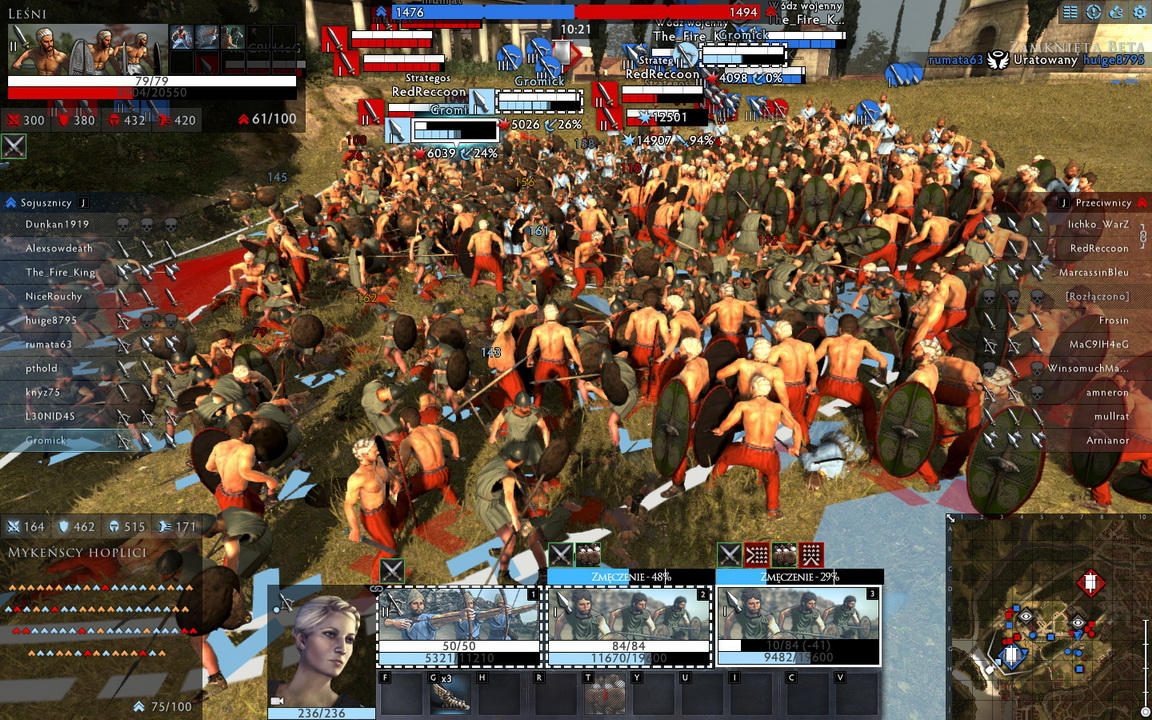 Total War: Arena - chaos na polu bitwy