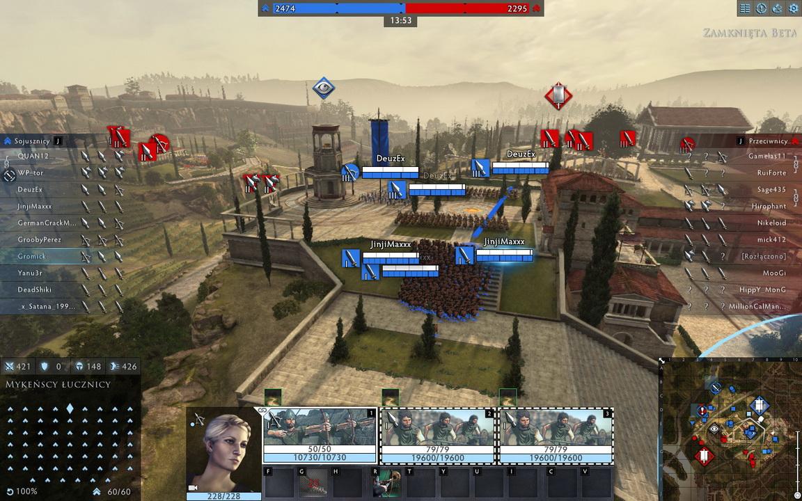 Total War: Arena - punkt obserwacyjny