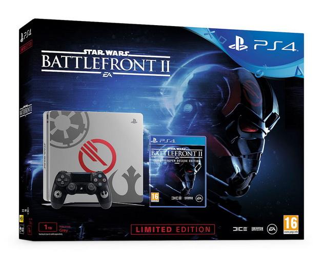 PS4 Slim czy PS4 Pro - pudełko z limitowana edycją PS4