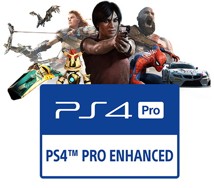 PS4 Slim czy PS4 Pro - informacja na pudełku o wsparciu PS4 Pro