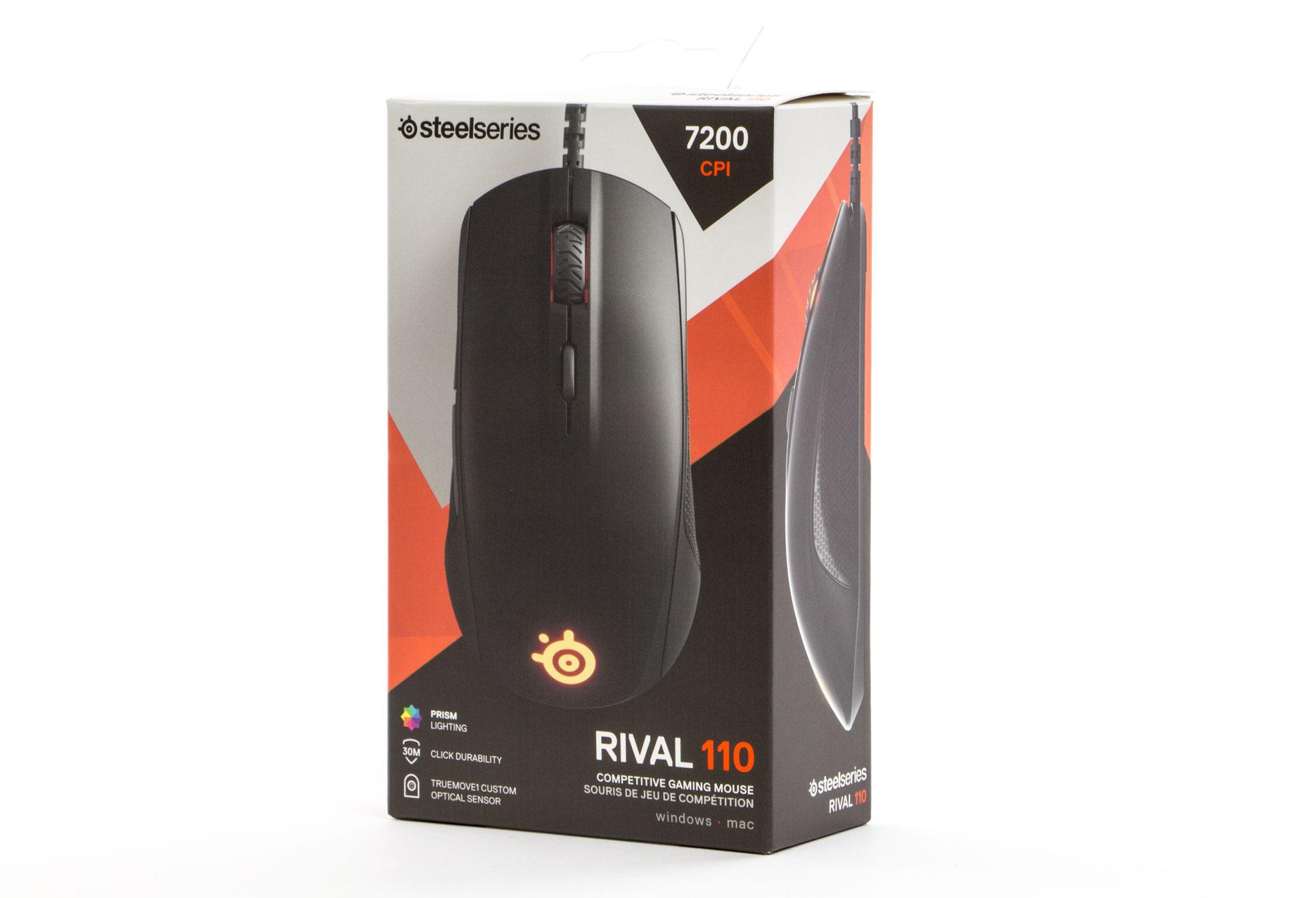 SteelSeries Rival 110 - pudełko z myszką