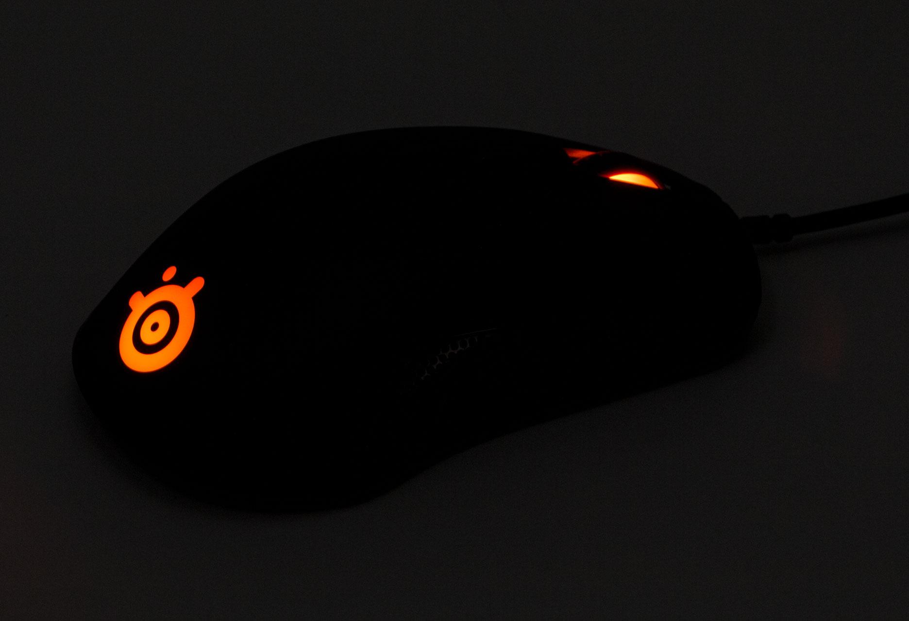 SteelSeries Rival 110 - podświetlenie myszy