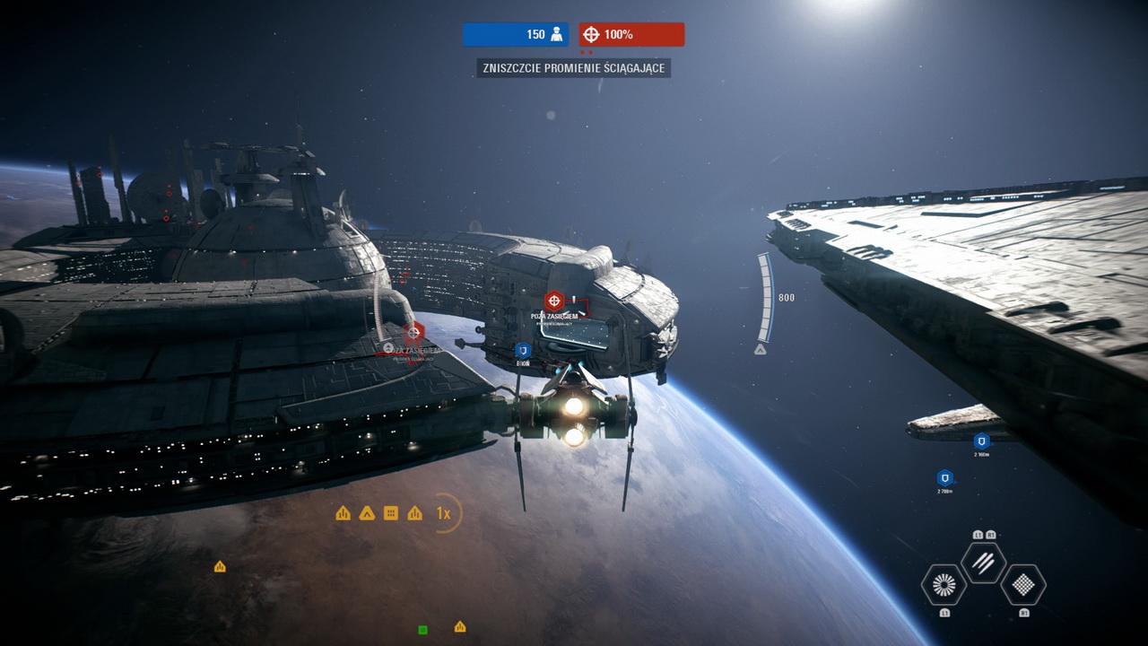 Star Wars: Battlefront II - zniszczyć promienie ściągające