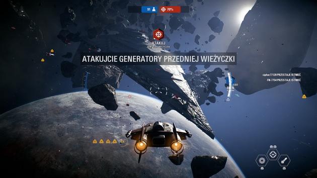 Star Wars: Battlefront II - gwiezdny niszczyciel na celowniku