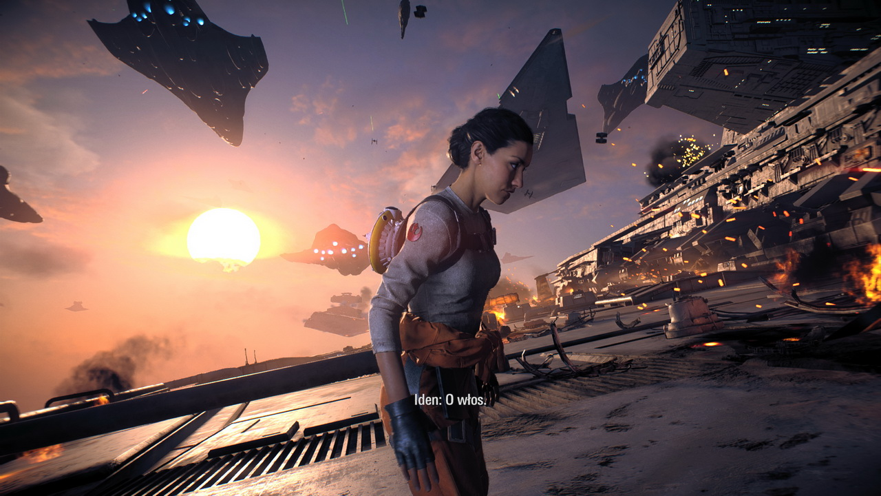 Star Wars: Battlefront II - walka na pokładzie niszczyciela
