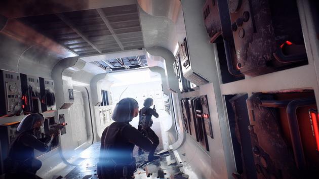 Star Wars: Battlefront II - znany korytarz