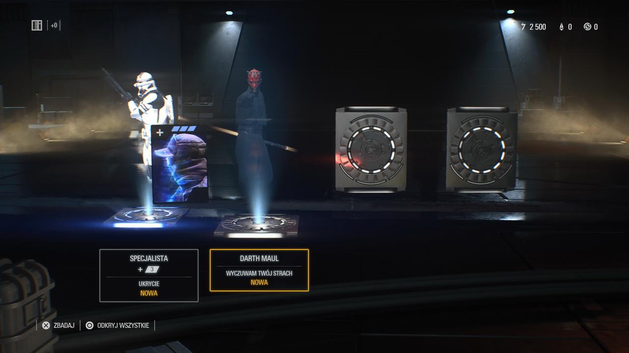 Star Wars: Battlefront II - losowanie nagród z loot boxów