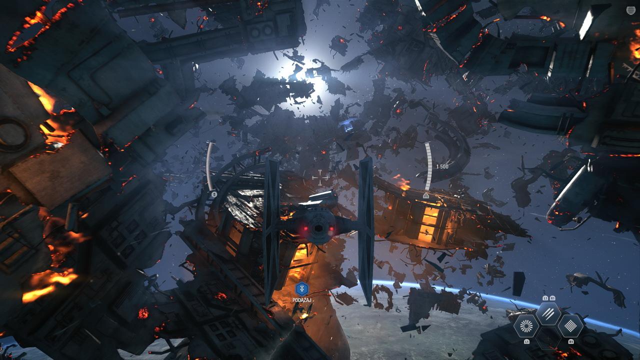 Star Wars: Battlefront II - w drodze na gwiezdny niszczyciel