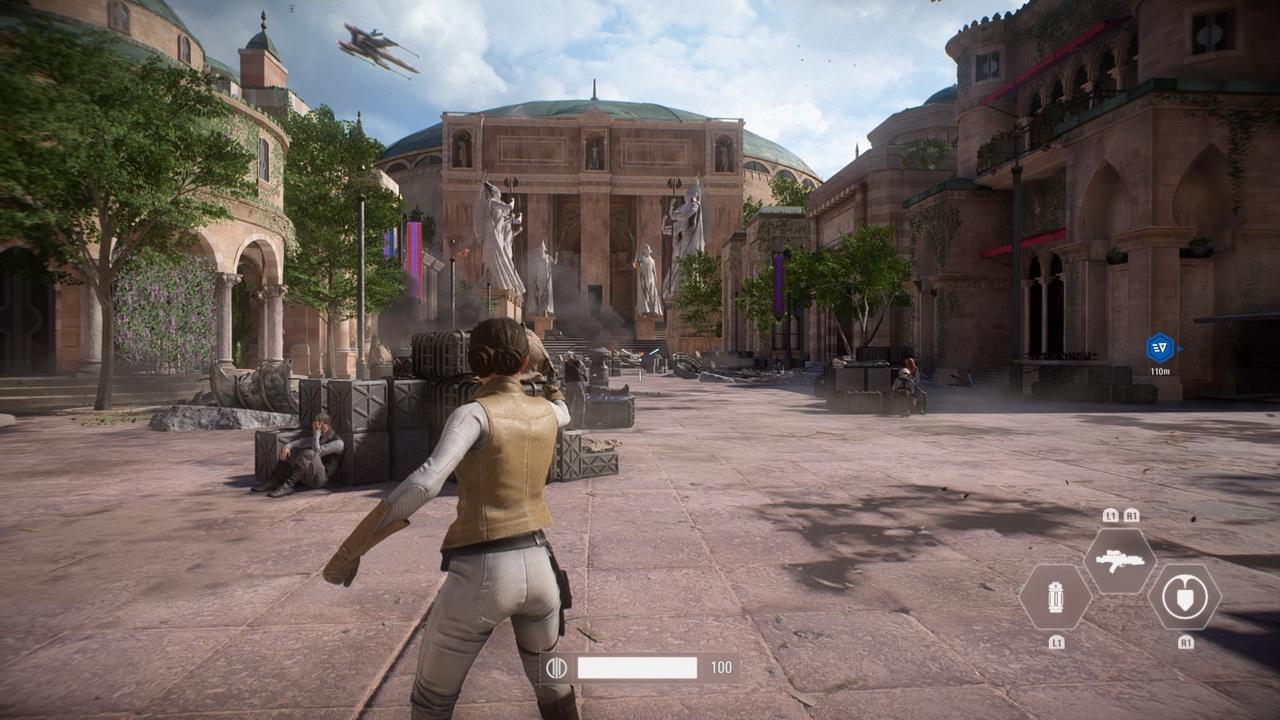 Star Wars: Battlefront II - księżniczka Leia na Naboo