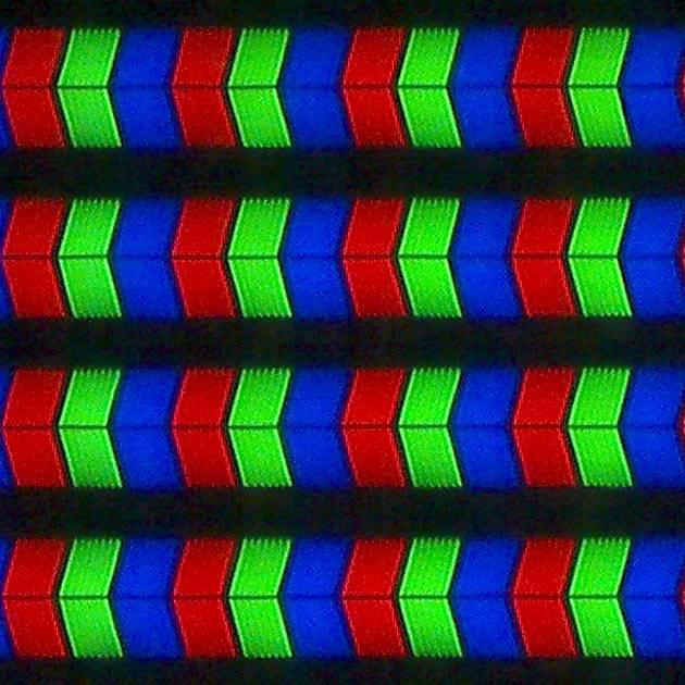 Panasonic 49EX633 - struktura subpixeli