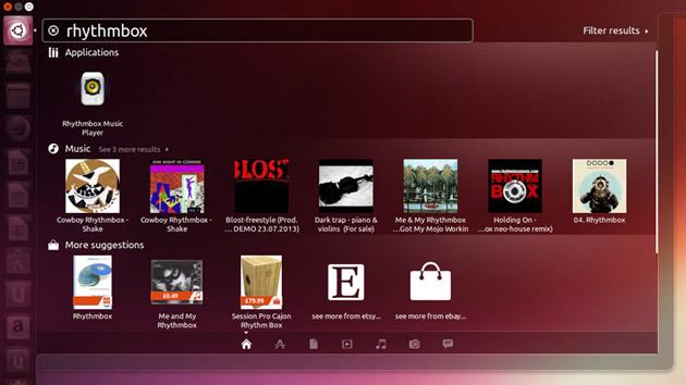 Ubuntu - sugestie z Amazon w dash na podstawie zebranych informacji