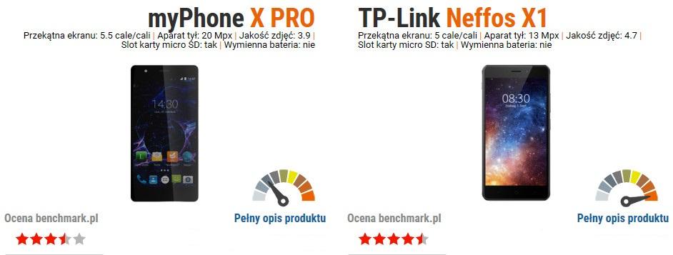 Neffos X1 vs myPhone X Pro