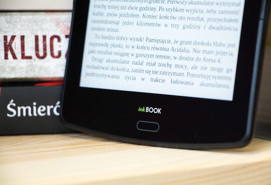 inkBOOK Prime - przycisk wstecz