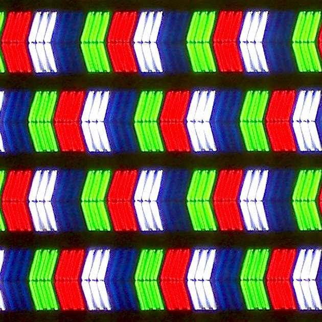 LG 55SJ810V - struktura subpixeli