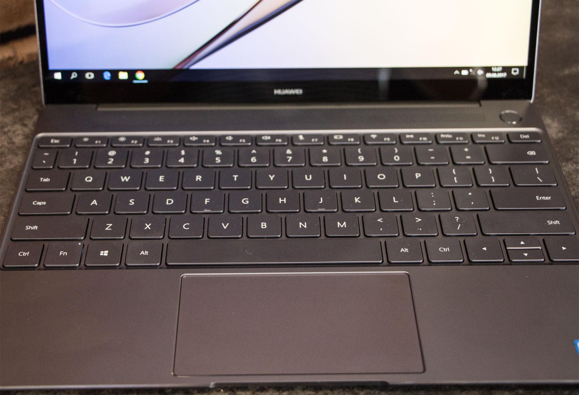 Huawei MateBook X klawiatura