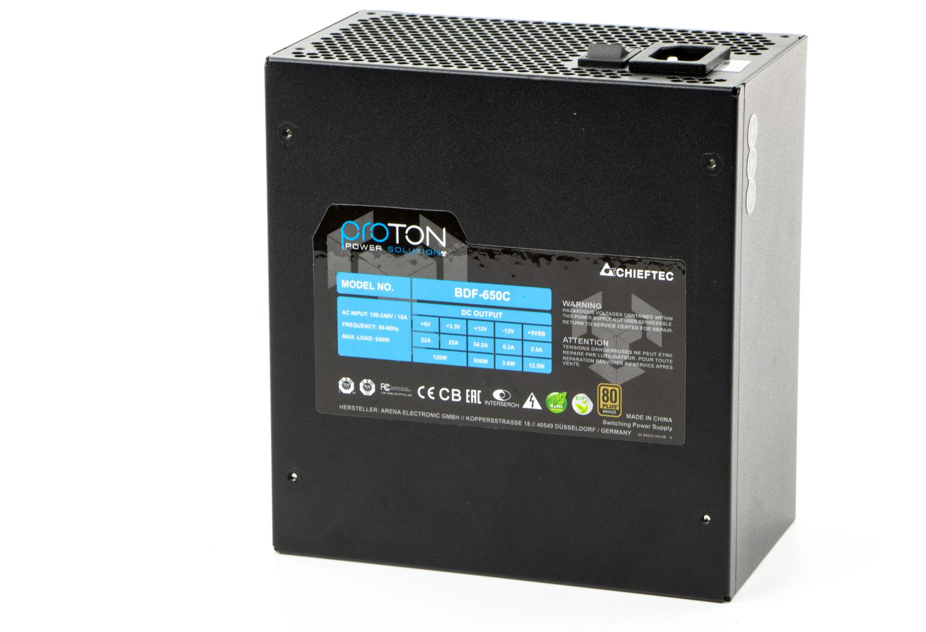 Chieftec Proton BDF-650C 650 W