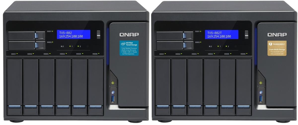 QNAP TVS-882 i TVS-882T