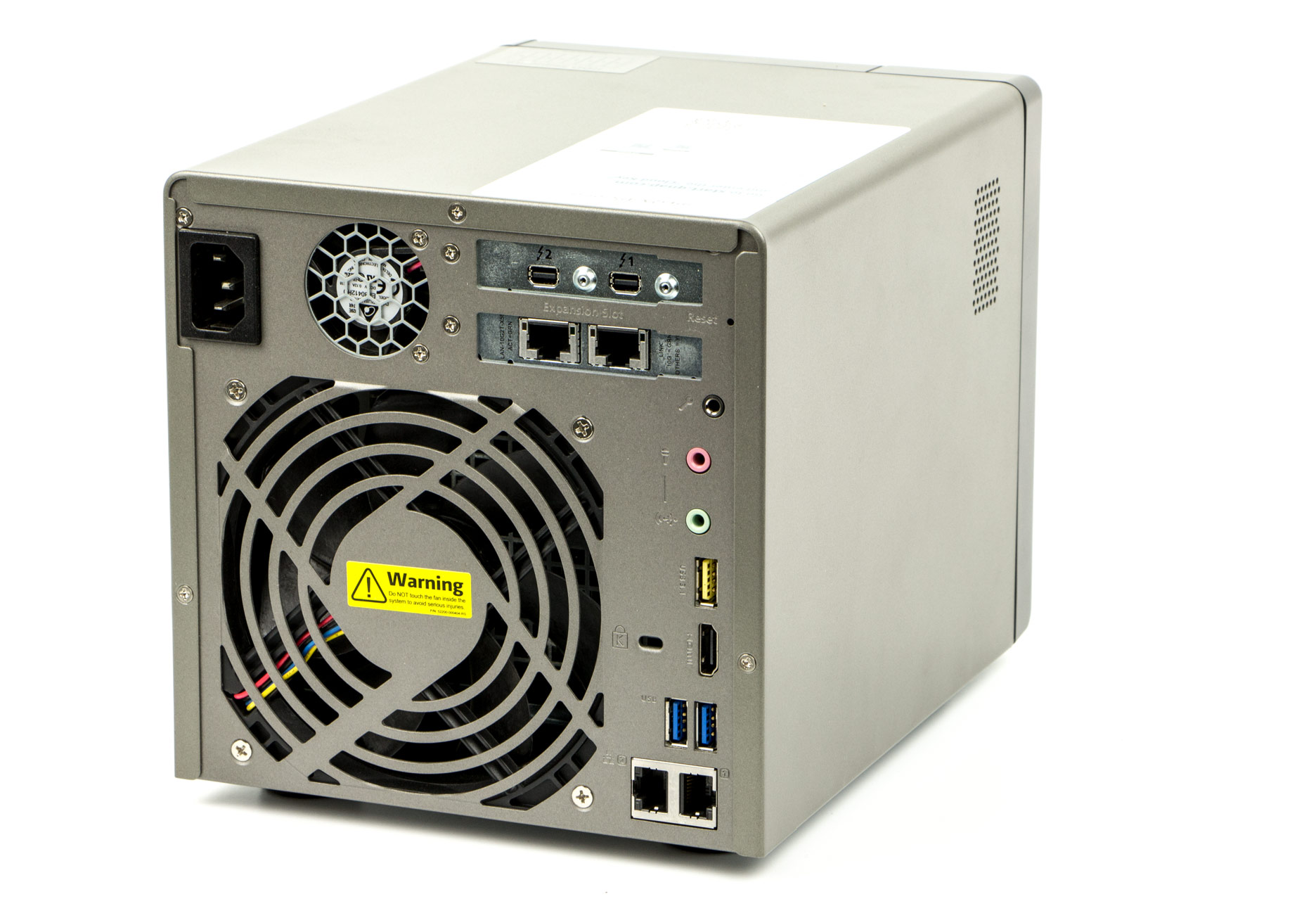 QNAP TVS-882ST tyl