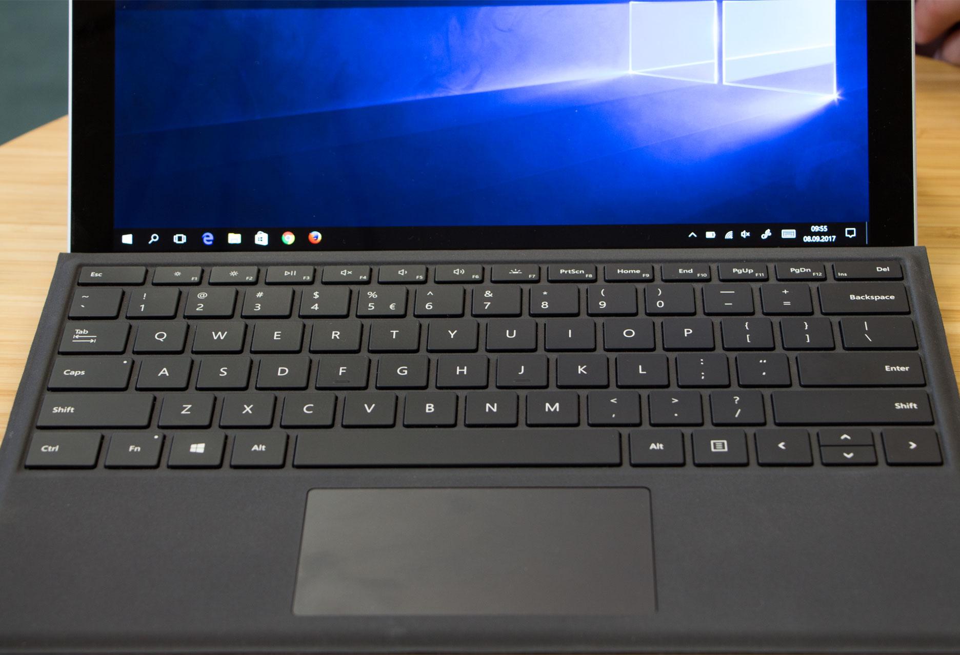 Microsoft Surface Pro touchpad