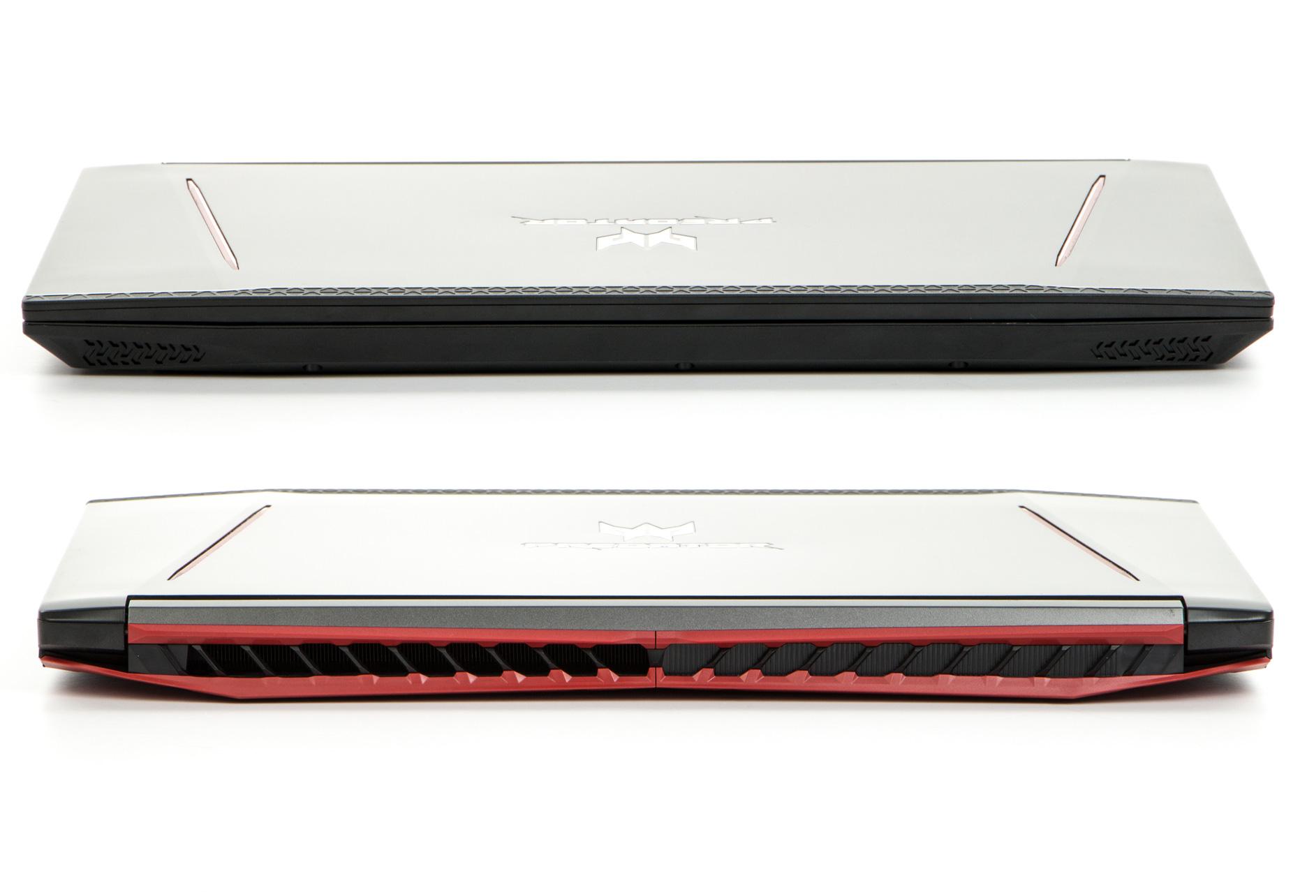 Acer Predator Helios 300 przód i tył