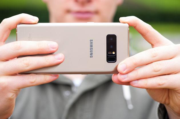 Galaxy Note 8 - aparat