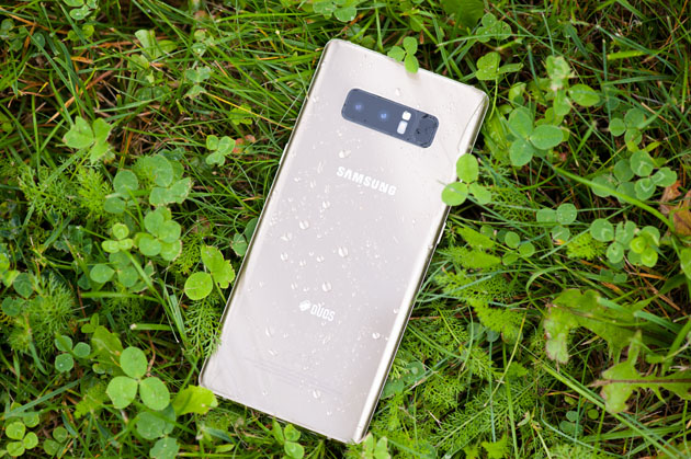 Galaxy Note 8 - tył obudowy