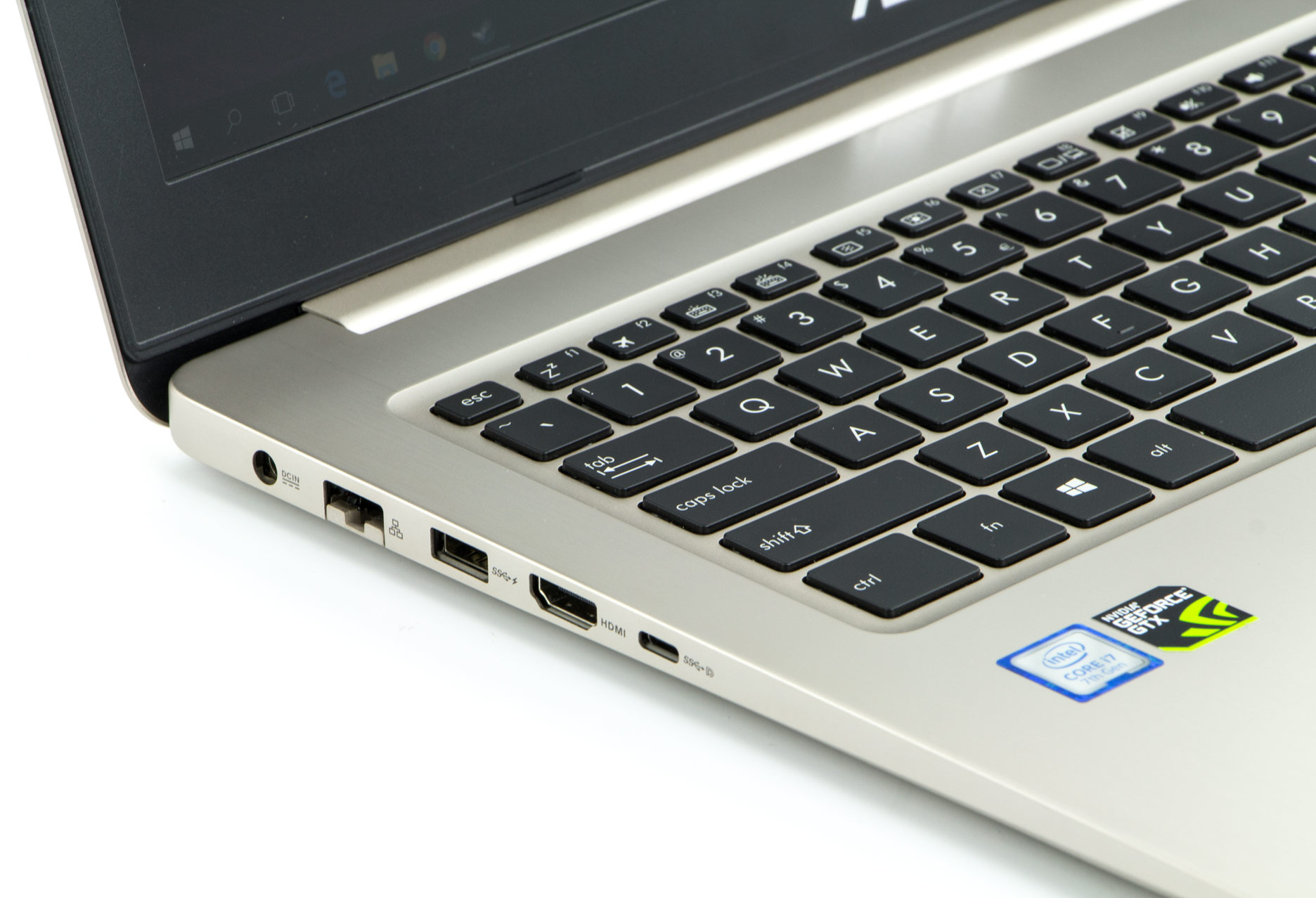 Asus VivoBook Pro 15 lewy bok