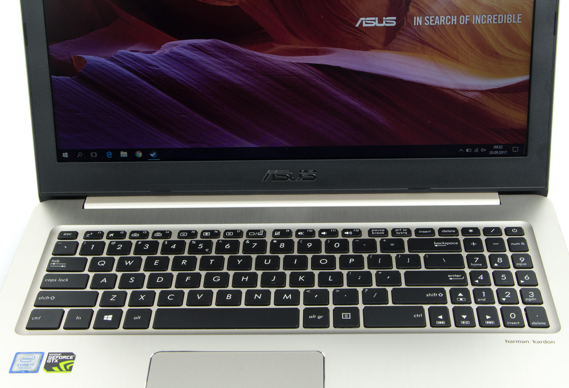 Asus VivoBook Pro 15 klawiatura