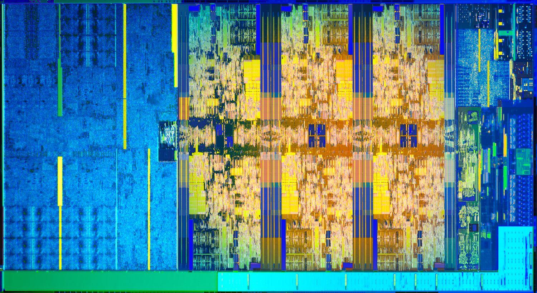 Intel Coffee Lake - budowa jądra
