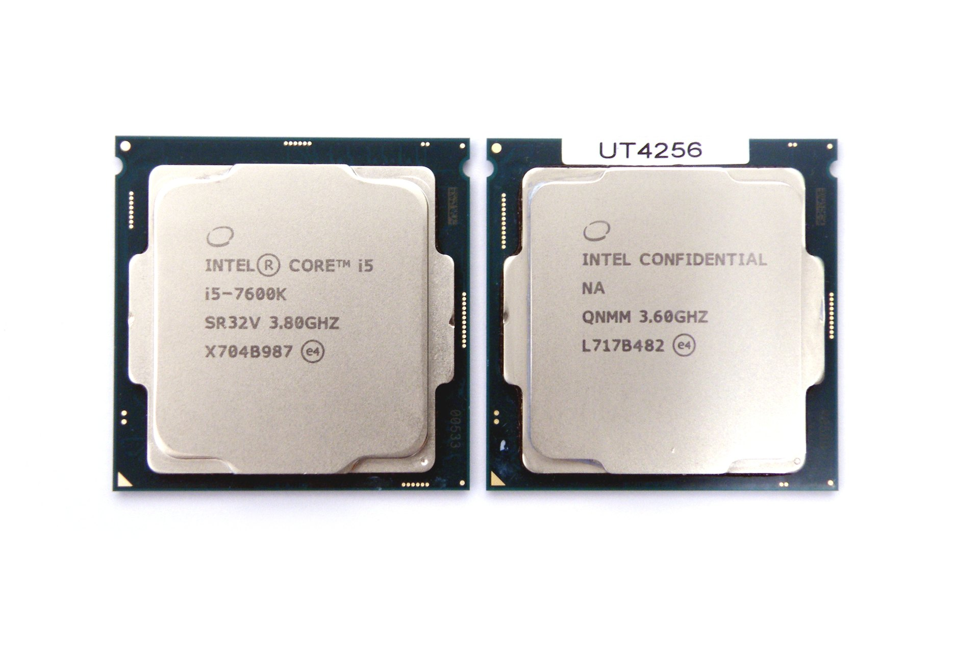 Intel Core i5 7600K i Core i5-8600K