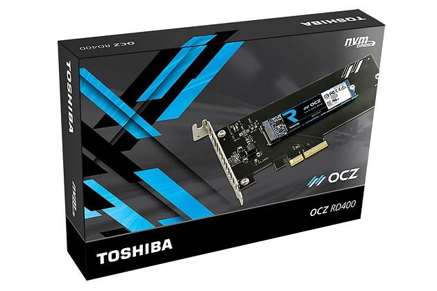 Toshiba OCZ RD400 512 GB - opakowanie