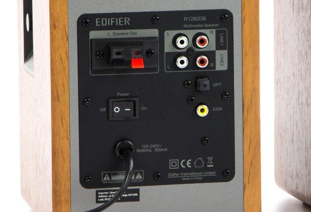 edifier r1280 gniazda