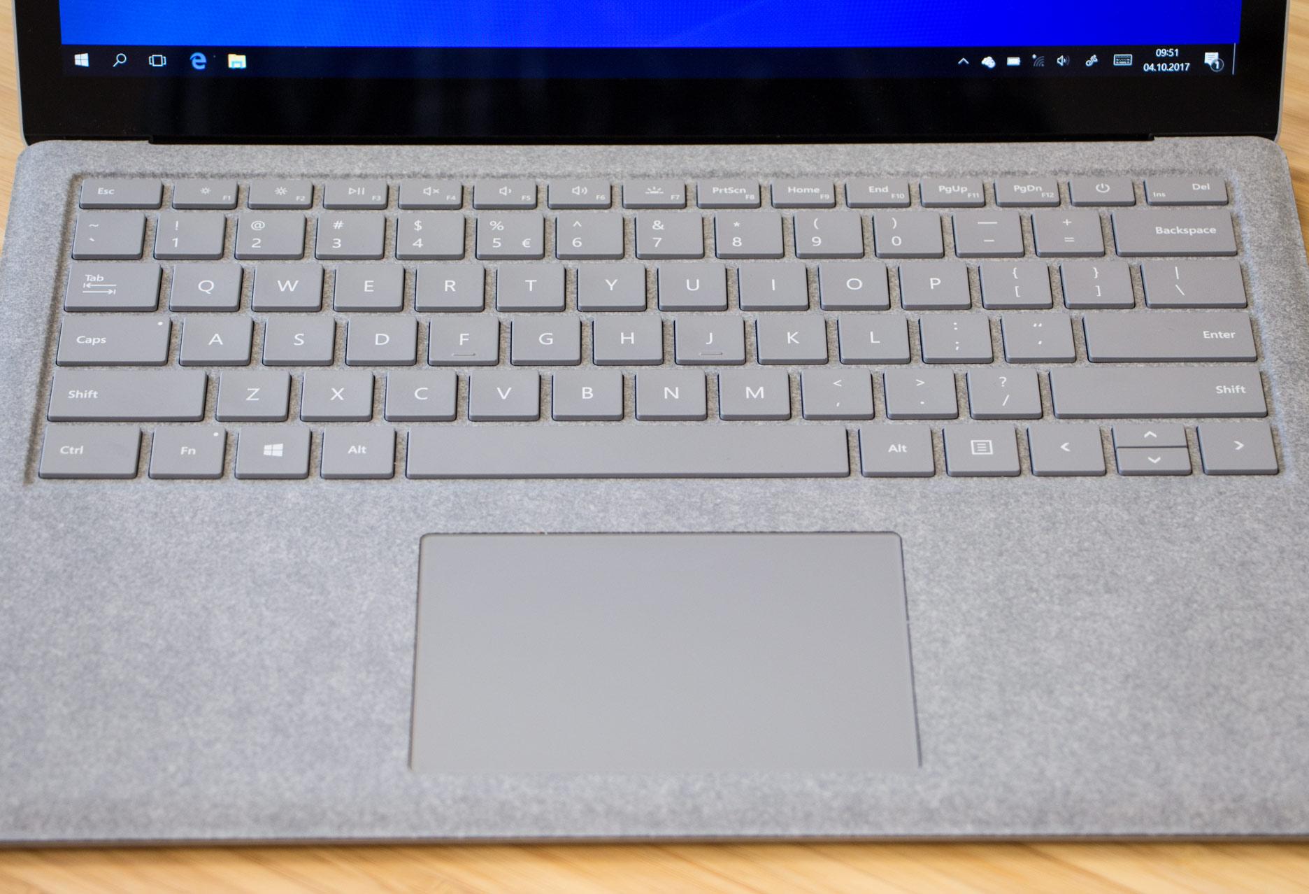 Microsoft Surface Laptop Alcantara