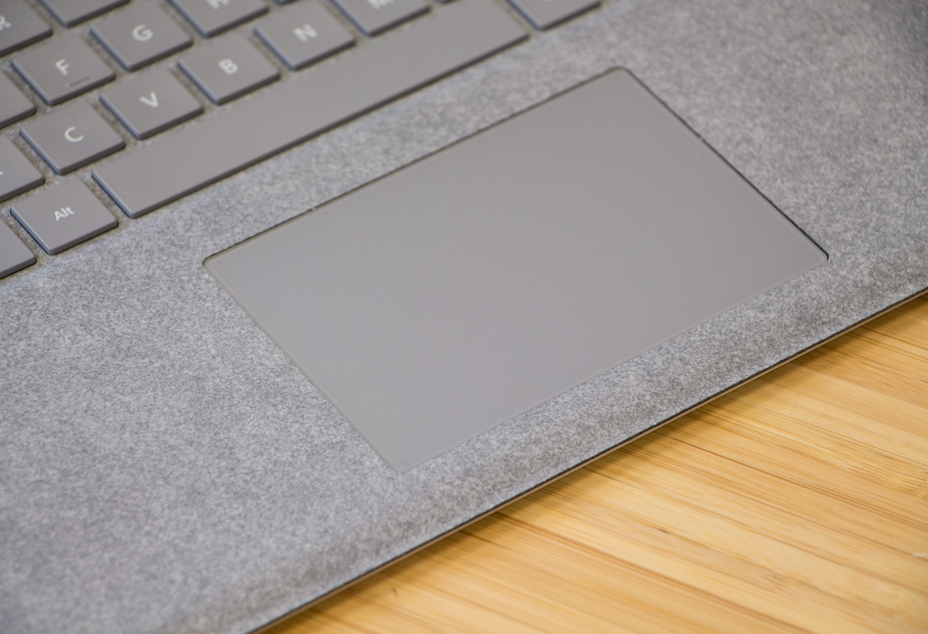Microsoft Surface Laptop touchpad