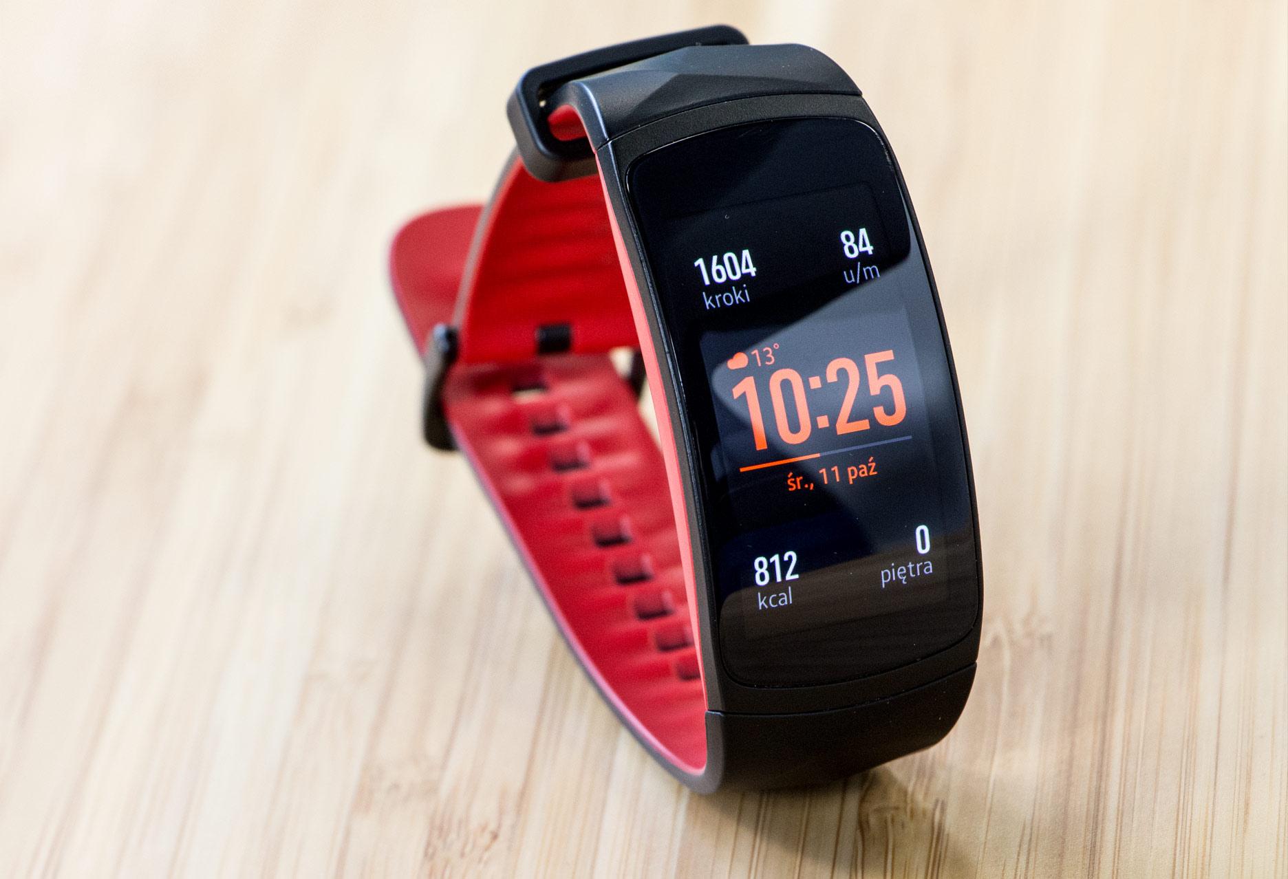 Samsung Gear Fit2 Pro ekran