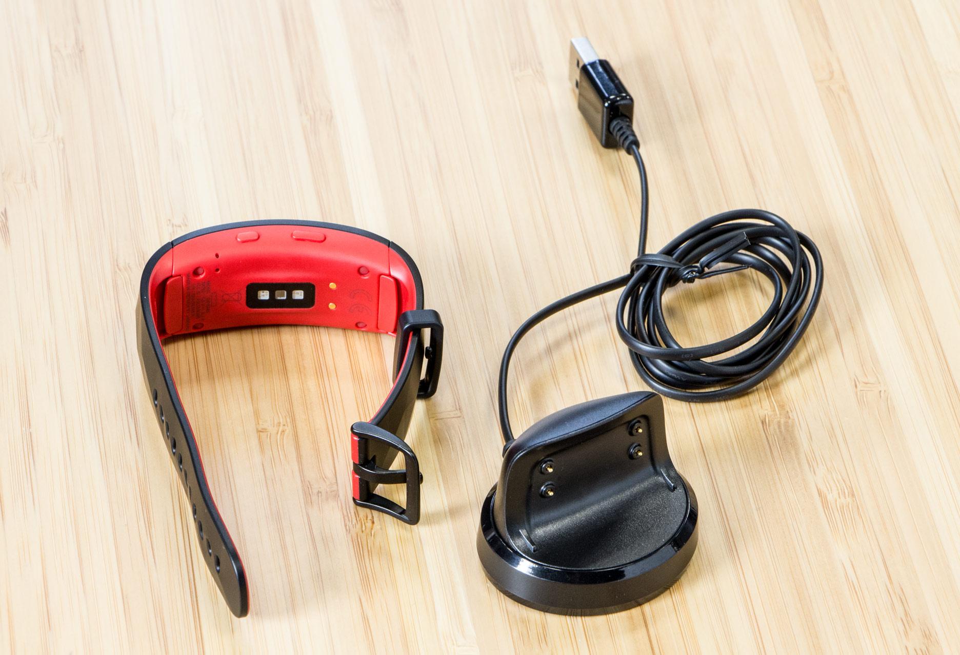 Samsung Gear Fit2 Pro ładowarka