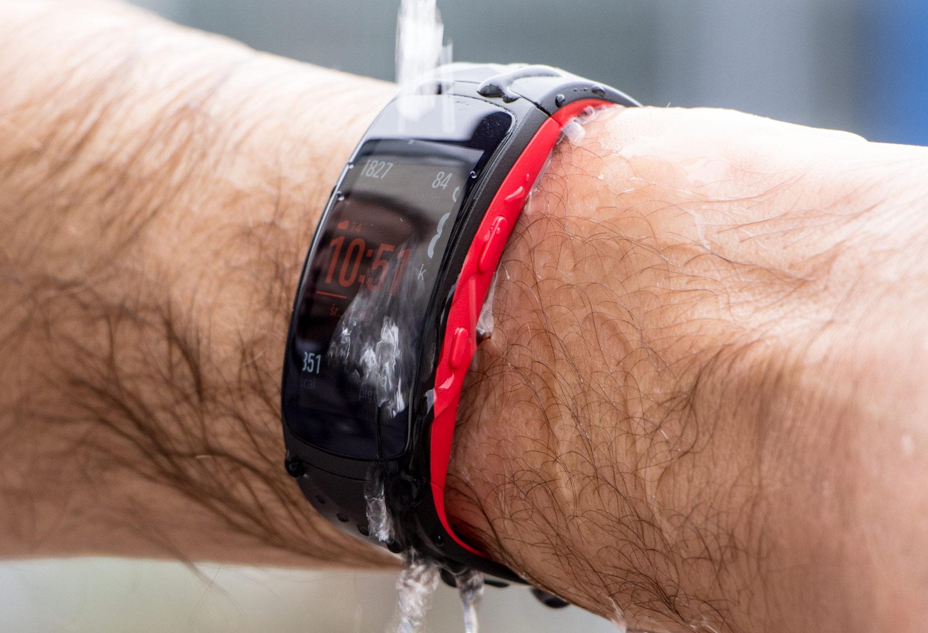 Samsung Gear Fit2 Pro wodoszczelność