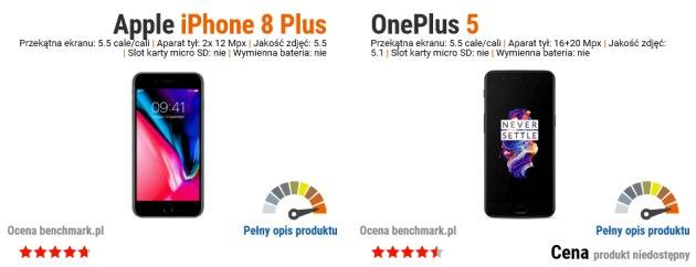 iphone 8 plus vs oneplus 5
