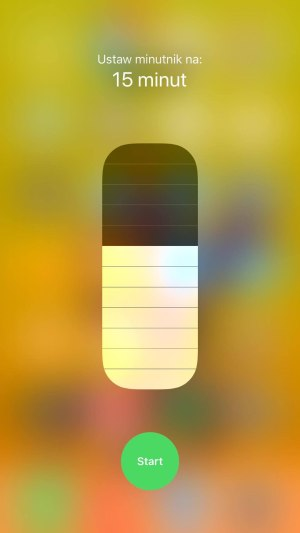 iPhone 8 Plus control center minutnik