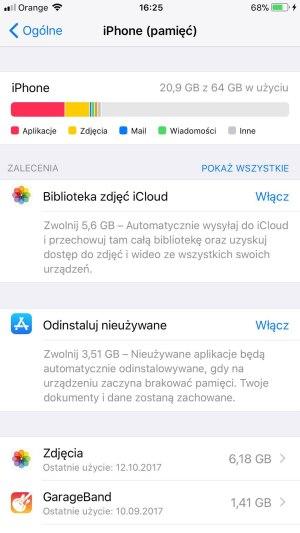 iPhone 8 Plus offload