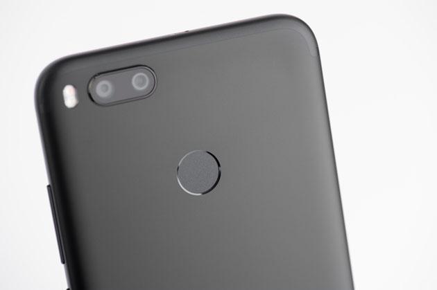 Xiaomi Mi A1 - czytnik linii papilarnych